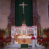 Private Mass of Fr. Logan at Main Altar