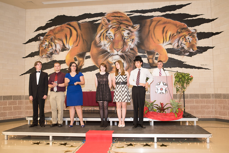 Band Banquet, April 30th, 2015