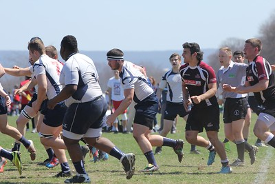 2015  Beast of the East - UMass Rugby 7