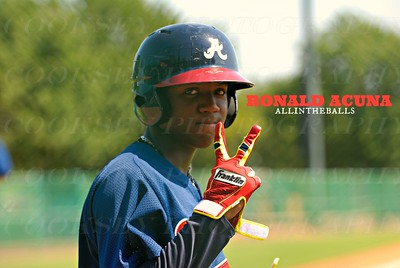 #24 Ronald Acuna CF Braves GCL