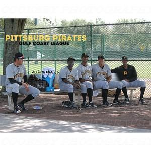 Pittsburg Pirates GCL Bench