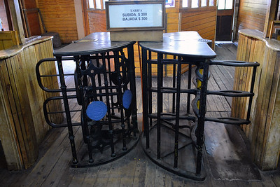 2015 vina  original turnstiles from 1800's