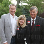 Mark Eliason, Margaret and Dan Woodside.