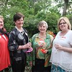 Robbie and Linda Steder, Jeannie Livesay, and Education Director Debbie Woods.