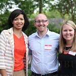 Von Purdy, Aaron Giust and Katie Austin.