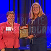 Linda Stanley, of Bank Of America Merril Lynch (right), and Midsize Non-Profit Organization CFO Of The Year Winner Debbie Kiggans of Leroy Springs & Company, Inc.
