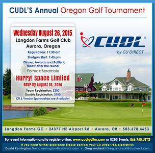 2015 CU Direct Golf Classic Oregon