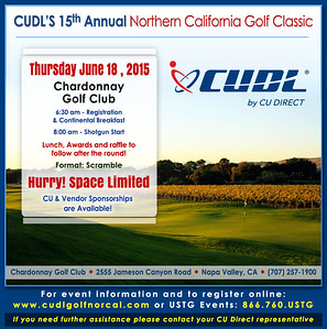2015 CU Direct Nor Cal Golf Classic