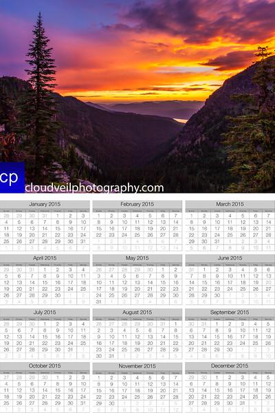 cloudveilphotography's 2015 calendar