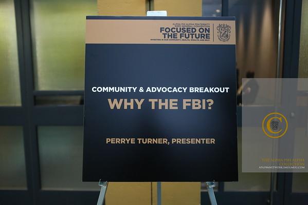 Why the FBI?