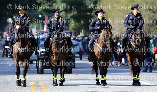 Christmas Parade, Lafayette, Louisiana 2015