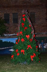 2015 Christmas tree lighting and Santa visit