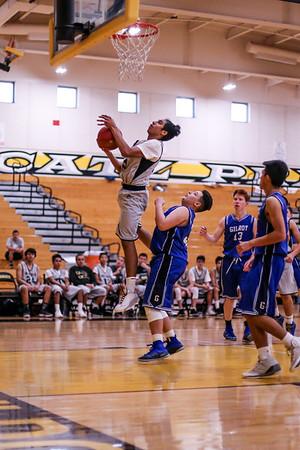 Frosh. Boy's Basketball - 1/12/18