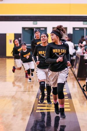 Varsity Girls Basketball - 1/8/18