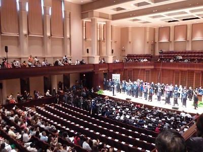 Advanced Degree Convocation at Stude Concert Hall