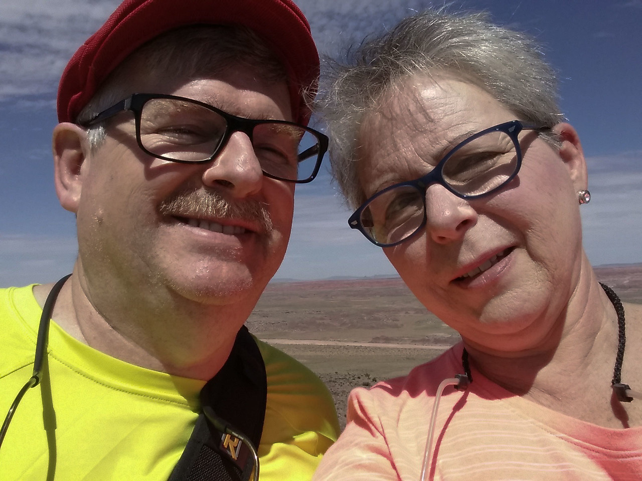 We made it, The Painted Desert National Park ,stop #1