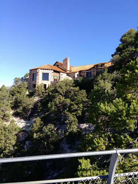 The North Rim Lodge.