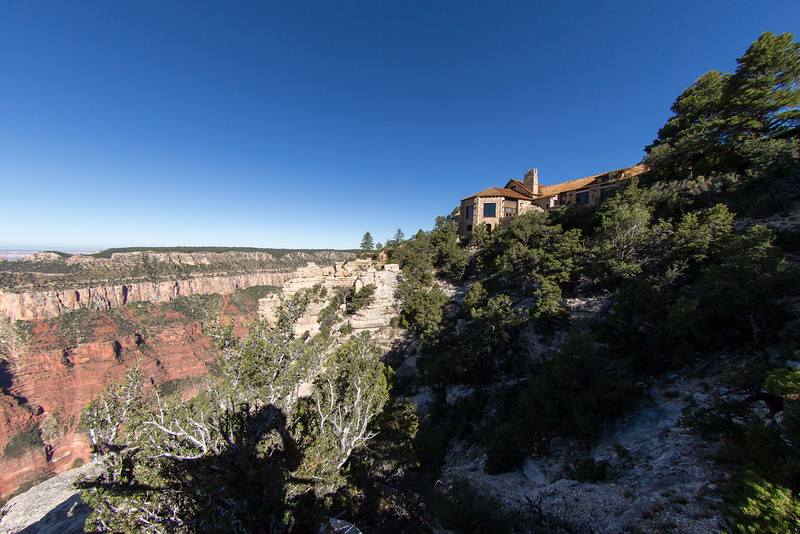 Another view of the North Rim Lodge Canyon observation room