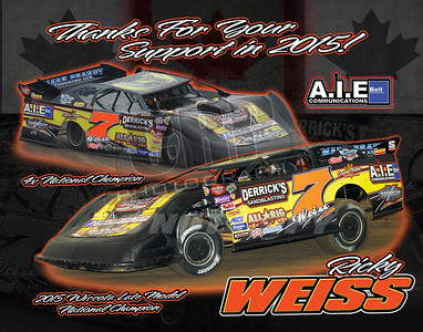 Ricky Weiss Sponsors