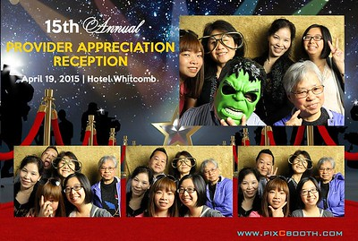4-19-15 Provider reception party