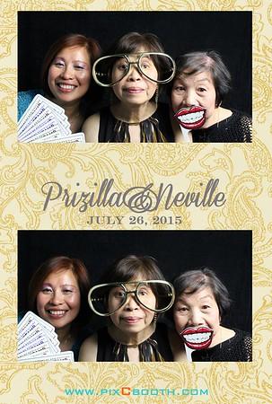 7-26-2015 Prizilla & Neville Wedding