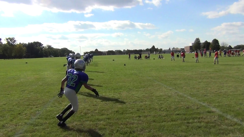 1  Eagan Kick OFF  onside kick recovered by EG