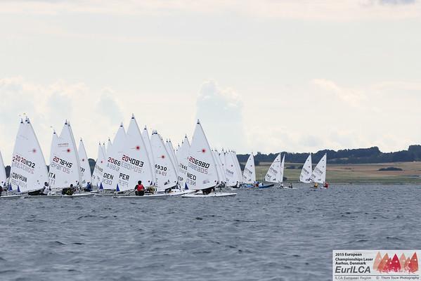 2015 Laser Senior European Championships, Aarhus, Denmark