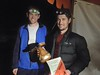 Peter Preston, Tomas Krajca - Overall winners of the Night Foot Event