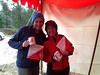 Stacey Greene and Benita Sommerville - Women's Open Winners of the Foot Event