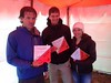 Mark Euston, Joelle Ducommun, Julien Ducommun - Second Mixed Open (and Second Overall) in the Foot Event
