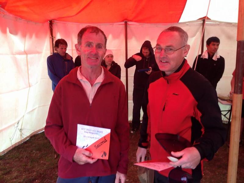 Stephen Graham, Paul Davis - Second Men's Open in the Foot Event.