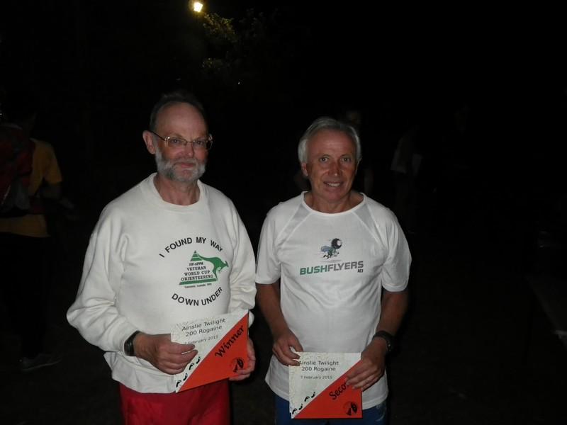 Michael Burt and David Jenkins - winners mens supervets