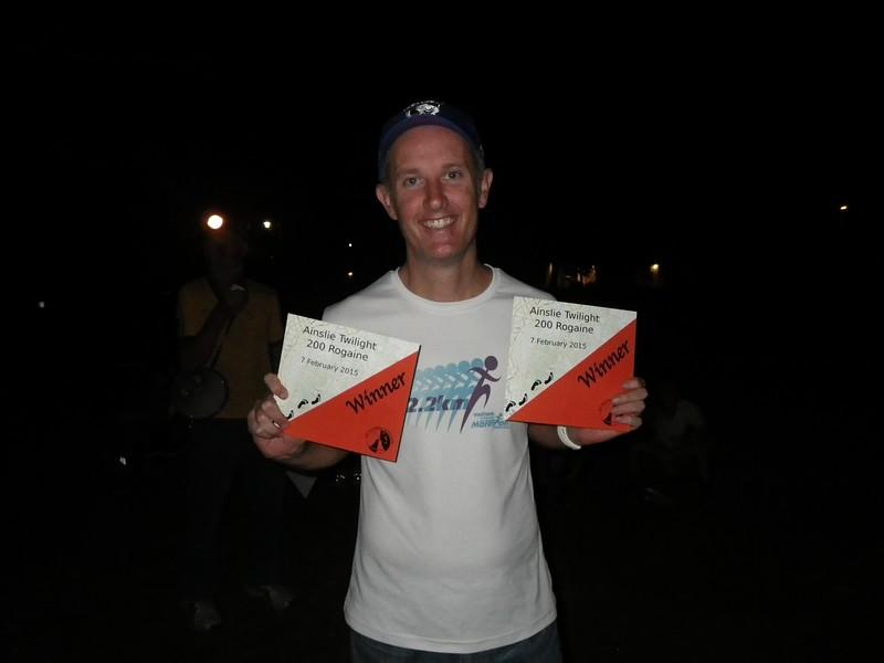 Jason McRae - winner mens open