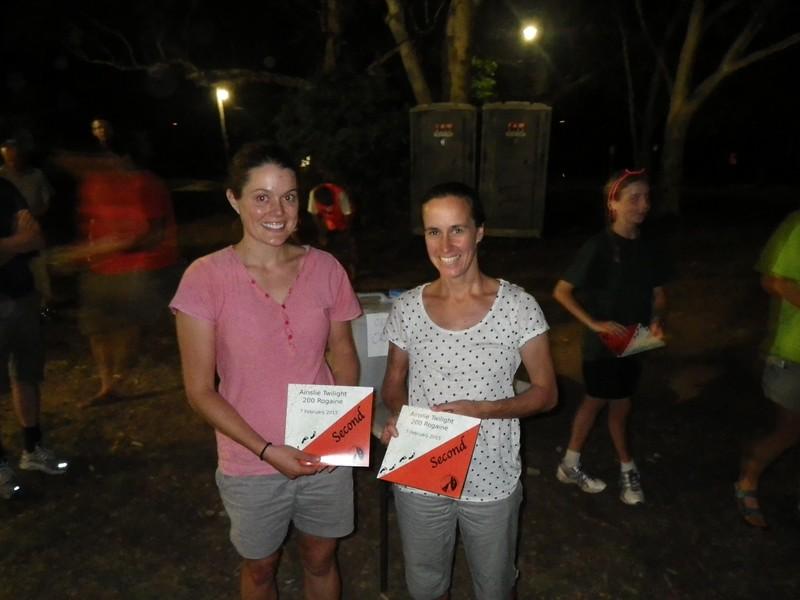 Kirsten Power and Allison Jones- second womens open