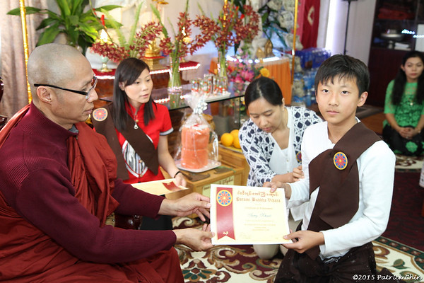 Certificate and Award Ceremony