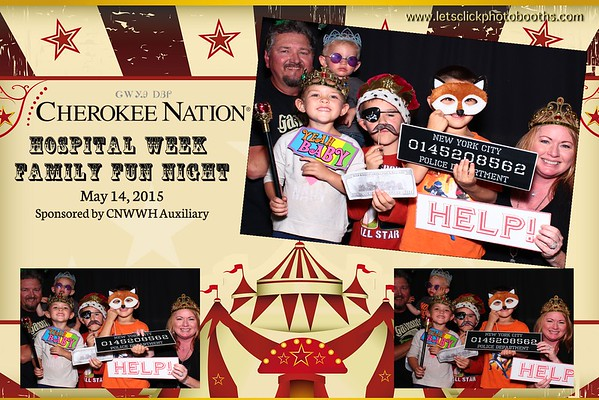 Cherokee Nation Hospital Week Family Fun Night