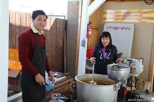 Myanmar New Year (Thingyan) Festival and Ah Hlu Pwe