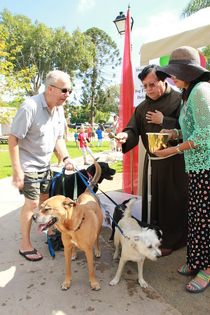10-03-15 St. Francis Festival Blessing of the Animals
