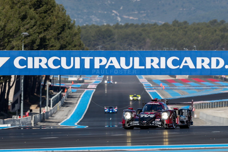 #1 Rebellion Racing (CHE) Rebellion R13-Gibson LMP1 - Andre Lotterer (DEU), Neel Jani (CHE), Bruno Senna (BRA), Mathias Beche (CHE), Gustavo Menezes (USA), Thomas Laurent (FRA)  WEC Prologue , Circuit Paul Ricard, Le Castellet, Var, France