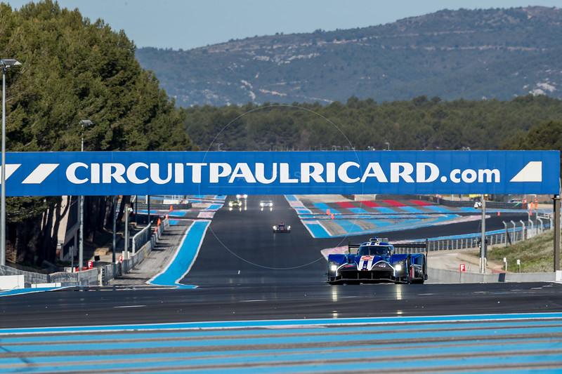 #6 CEFC TRSM Racing (CHN) Ginetta G60-LT-P1-Mecachrome LMP1 - Oliver Rowland (GBR), Alex Brundle (GBR)  WEC Prologue , Circuit Paul Ricard, Le Castellet, Var, France