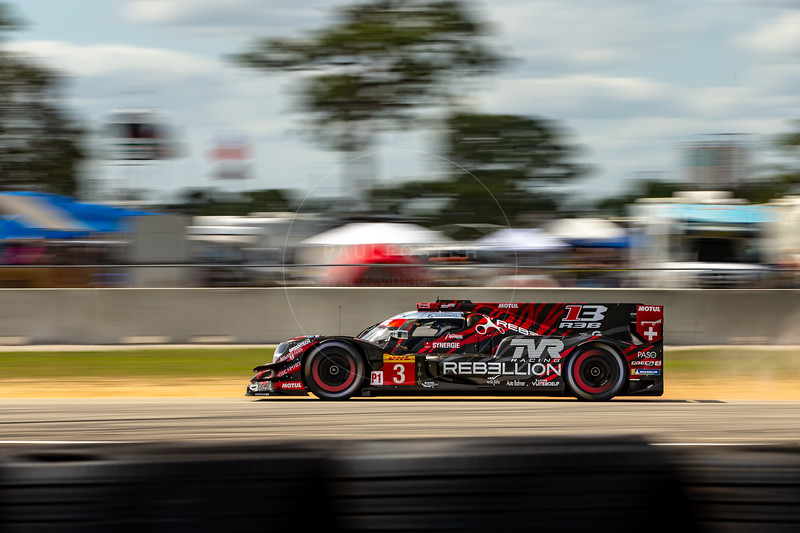 #3 Rebellion Racing Rebellion R-13: Nathanaël Berthon, Gustavo Menezes, Thomas Laurent , 1000 Miles of Sebring, Sebring International Raceway, Sebring, Florida