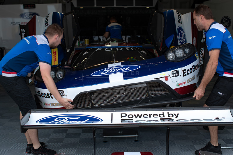 Ford GT Garage 1000 Miles of Sebring, Sebring International Raceway, Sebring, Florida