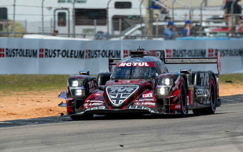 #3 Rebellion Racing Rebellion R-13: Nathanaël Berthon, Gustavo Menezes, Thomas Laurent, 1000 Miles of Sebring, Sebring International Raceway, Sebring, Florida