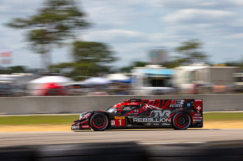 #1 Rebellion Racing Rebellion R-13: Mathias Beche, Neel Jani, Bruno Senna , 1000 Miles of Sebring, Sebring International Raceway, Sebring, Florida