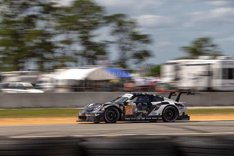 #88 Proton Competition Porsche 911 RSR: Gianluca Roda, Giorgio Roda, Matteo Cairoli , 1000 Miles of Sebring, Sebring International Raceway, Sebring, Florida