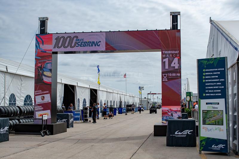 1000 Miles of Sebring, Sebring International Raceway, Sebring, Florida
