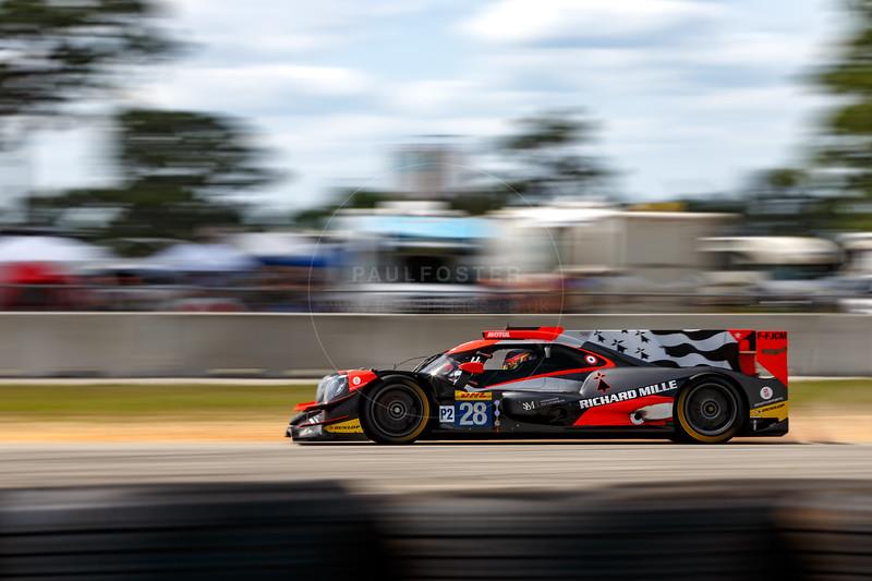 #28 TDS Racing Oreca 07: Francois Perrodo, Matthieu Vaxiviere, Loic Duval , 1000 Miles of Sebring, Sebring International Raceway, Sebring, Florida