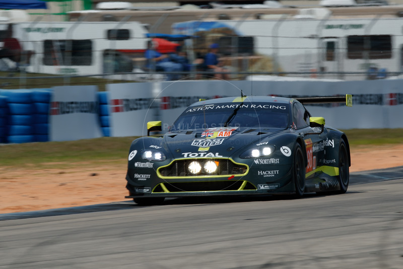 #98 Aston Martin Racing Aston Martin Vantage: Paul Dalla Lana, Pedro Lamy, Mathias Lauda , 1000 Miles of Sebring, Sebring International Raceway, Sebring, Florida