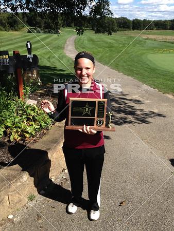 Winamac Girls Golf @ Hoosier North Athletic Conference--Saturday--09-12-15
