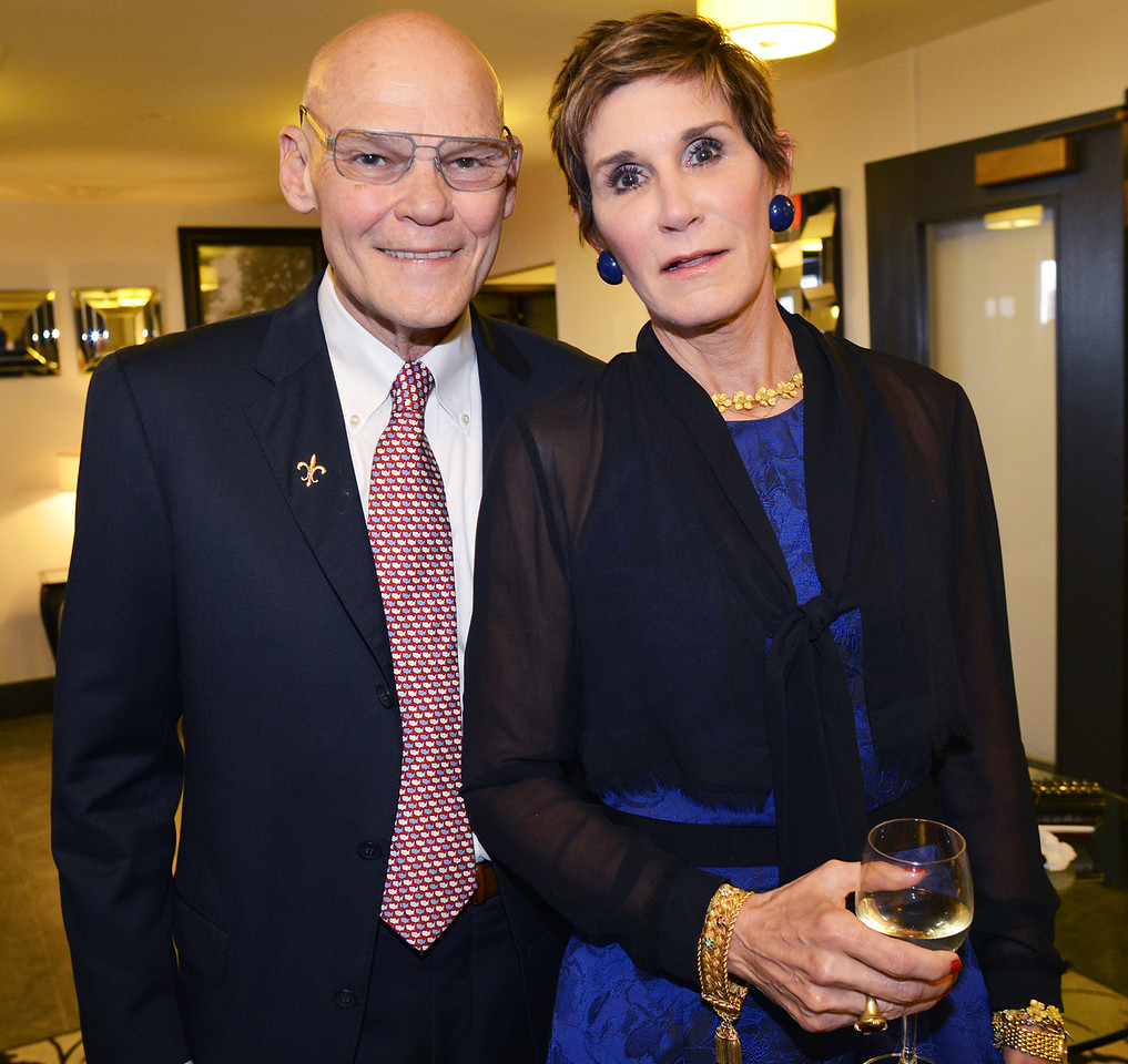 Keynote speakers and recipients of NEHGS Lifetime Achievement Awards for Political Studies and Commentary James Carville and Mary Matalin